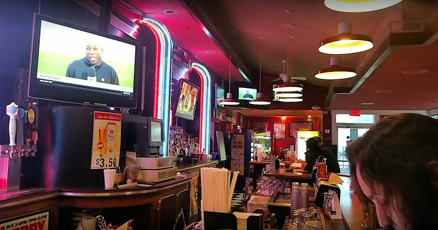 A photo of the inside of Zebb's Grill & Bar in Mattydale, New York